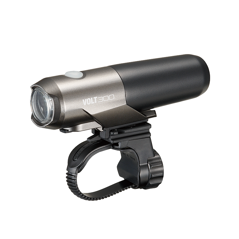 CATEYE FRONT LIGHT VOLT-300 (USB CHARGEABLE WITH REMOVABLE CATRIDGE BATTERY) - HL-EL460RC - Cycling Boutique