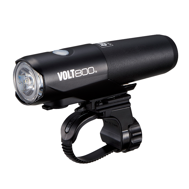 CATEYE FRONT LIGHT VOLT 800 (USB RECHARGEABLE WITH REMOVABLE CATRIDGE BATTERY) - HL-EL471RC - Cycling Boutique