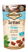 Carnilove soft snack sardines / peterselie 50 gr