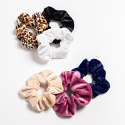 Chelsea's Favorite Velvet Hair Scrunchies