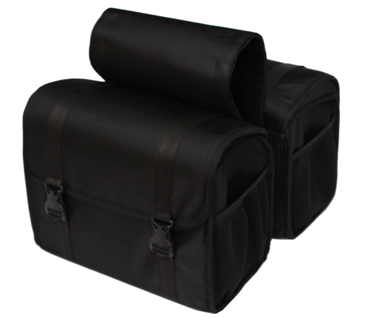 Shady Black Saddle Bag