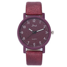 Load image into Gallery viewer, Retro Simple Women Watches Laides Casual Quartz Wrist Watch Multicolor Leather Band New Strap Watch Female Clock reloj mujer /C