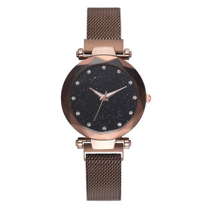 relogio feminino Starry Sky Watch Women Watches Luxury Diamond Ladies Magnet Watches for Women Quartz Wristwatch reloj mujer