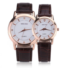 Load image into Gallery viewer, Love Watches Women Men Clock Fashion Casual Couple Watches Leather Strap Romantic Wristwatch Alloy Quartz Minimalist Watch