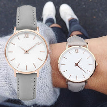 Load image into Gallery viewer, Zegarek Damski Fashion Simple Women Watches Woman Ladies Casual Leather Quartz Watch Female Clock Relogio Feminino Montre Femme