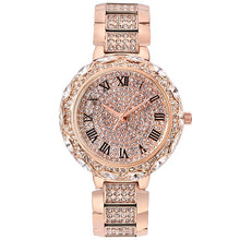 Load image into Gallery viewer, Women Watch Woman 2020 Luxury Brand Gold Clock Lady Wrist Watches Crystal Female Ladies Quartz Watch Fashion Women's Wristwatch