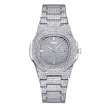 Load image into Gallery viewer, Hot Luxu Fashion Diamond Women Watch Steel Luxury Ladies Crystal Rhine-stone Quartz Watches Casual Dress Wristwatch Gift 2019 #D