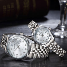 Load image into Gallery viewer, Couple Watch 2020 Mens Watches Top Brand Luxury  Quartz Watch Women Clock Ladies Dress Wristwatch Fashion Casual lovers Watch