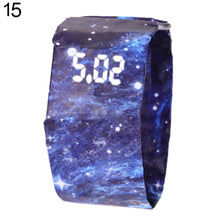 Load image into Gallery viewer, 2019 Creative Waterproof Unisex Students LED Light Digital Display Paper Watch Gift