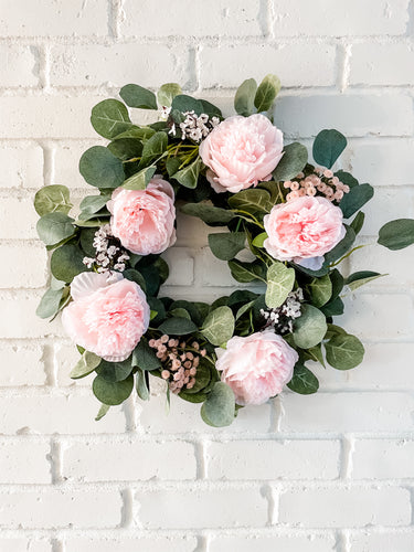 Blushing Peony Wreath Kit Add On