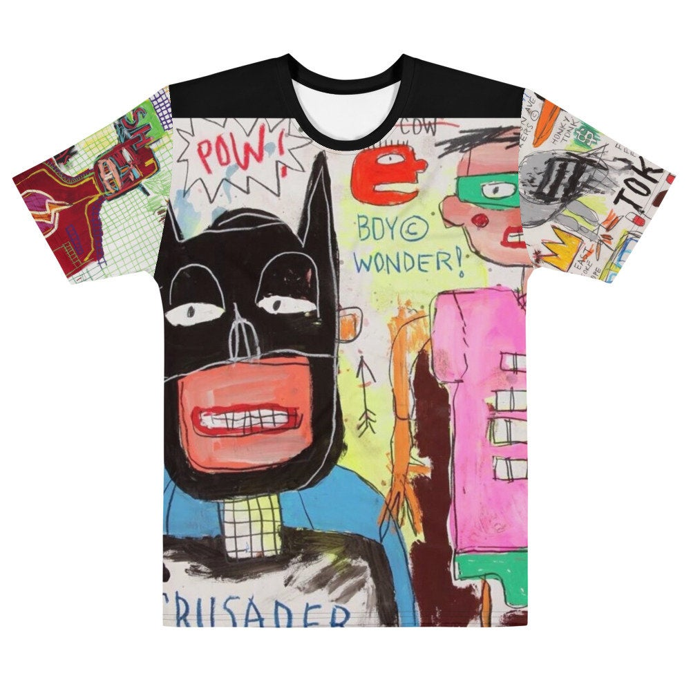 "Basquiat Justice ""Batman"" T-shirt"