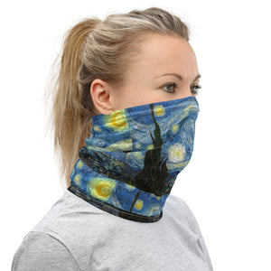 Starry Night -Face Cover Neck Gaiter