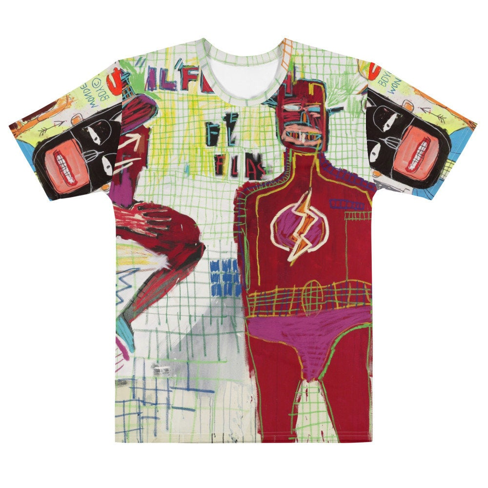 "Basquiat Justice ""Flash"" T-shirt"