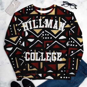 Hillman College Different World Mudcloth Sweatshirt
