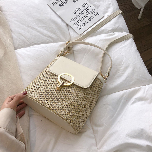 sac starlight blanc photoshoot sur lit
