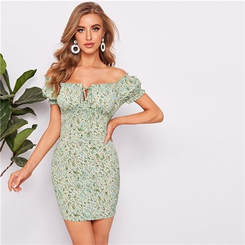 "Robe courte moulante cocktail chic ""Willow"""