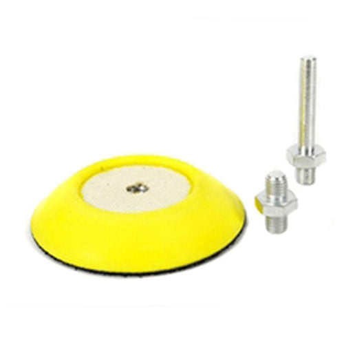 3 Inch Flex Pro Professional Backing Plate With Drill & Da Adapters