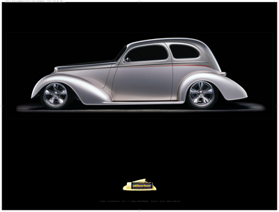 "1935 Chevy ""Grand Master"" by Chip Foose Poster - Clean Tools Automotive"