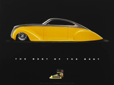 "1939 Lincoln Zepher ""Lead Zephyr"" Boyd Coddington Poster - Clean Tools Automotive"