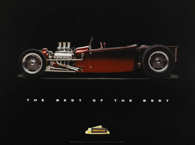 "1929 Ford Roadster Pickup ""Loaded"" Royce Glader Poster - Clean Tools Automotive"
