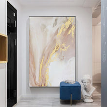 Load image into Gallery viewer, Vicky Yao Wall Decor - Luxury Marble With Gold Canvas Prints