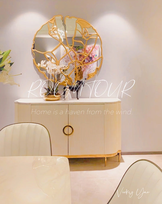 Vicky Yao Home Decor - Exclusive Design Luxury Marble Cabinet