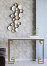 Load image into Gallery viewer, Vicky Yao Wall Decor - Luxury Metal Golden Wall Decor