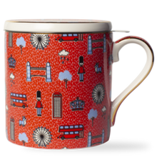 Load image into Gallery viewer, Vicky Yao Home Decor - T2 Boxed Iconic French Earl Grey Mug/Infuser