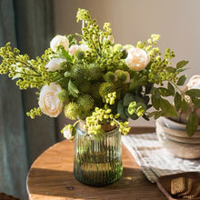 Load image into Gallery viewer, Vicky Yao Faux Floral - Exclusive Design Green Spring Artificial Flower Arrangement