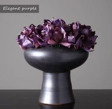 Load image into Gallery viewer, Vicky Yao Faux Floral - Exclusive Design Handmade Luxury Elegant Purple Flower Arrangement