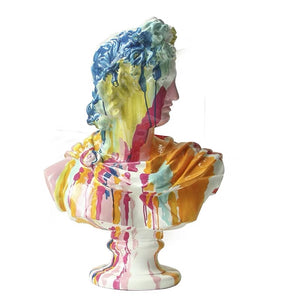 Vicky Yao Table Decor - Exclusive Design Art Colorful Plaster Statue