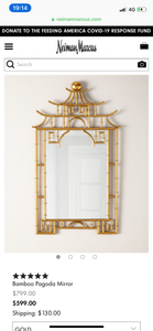 Vicky Yao Wall Art  - Chinese Style Bamboo Wall  Mirror - Vicky Yao Home Decor SEO