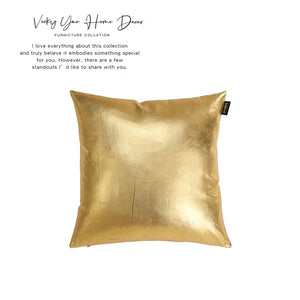 Vicky Yao Home Bedding - Exclusive Design Luxury Gold Decorative Pillow
