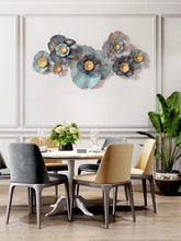 画像をギャラリービューアに読み込む, Vicky Yao Wall Decor - Metal Flowers Art Wall Decor