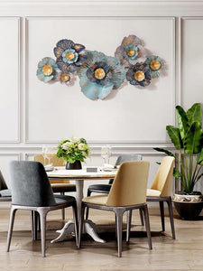 Vicky Yao Wall Decor - Metal Flowers Art Wall Decor