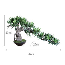 Load image into Gallery viewer, Vicky Yao Faux Plant - Exclusive Design Artificial Bonsai Arrangement Gift For Him