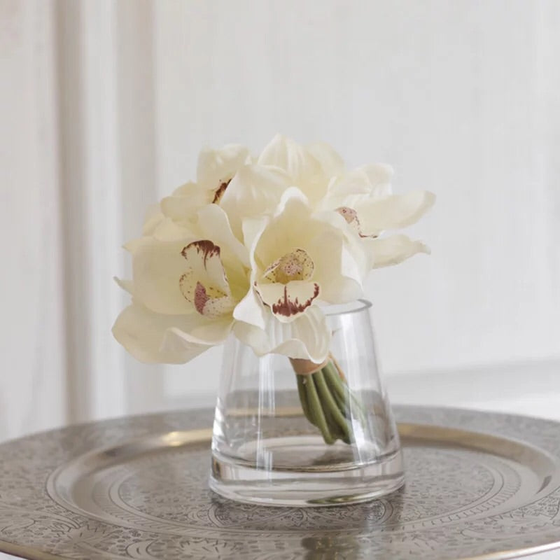 Vicky Yao Faux Floral- Real Touch Orchid Table Flower - Vicky Yao Home Decor SEO
