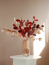 画像をギャラリービューアに読み込む, Vicky Yao Faux Floral- Colorful Eucalyptus With Vase - Vicky Yao Home Decor SEO