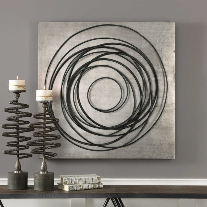 Vicky Yao Wall Decor - Whirlwind Metal Wall Decor