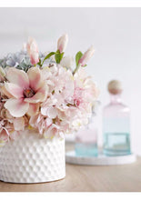 Load image into Gallery viewer, Vicky Yao FauxFloral - Hydrangea Magnolia Pink White Ceramic Vase - Vicky Yao Home Decor SEO