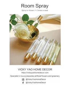 Vicky Yao Home Decor - Luxury Artificial Flowers Room Spray 10ml