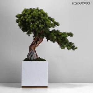 Vicky Yao Faux Floral - New Chinese Style Artificial Bonsai Arrangement