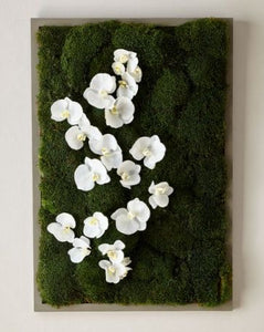 Vicky Yao Wall Decor - Artificial Orchid Butterfly Garden Wall Art