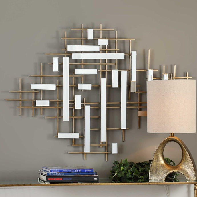 Vicky Yao Wall Decor - Apollo Mirrored Wall Decor
