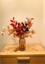 画像をギャラリービューアに読み込む, Vicky Yao Faux Floral- Exclusive Design Colorful Artificial Eucalyptus Flower Arrangement With Vase