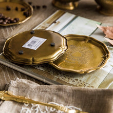 Load image into Gallery viewer, Vicky Yao Table Decor - Beautiful Natural Brass Cracker Tray