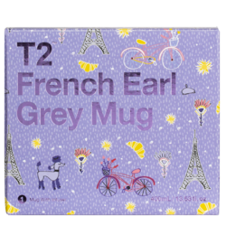 Vicky Yao Home Decor - T2 Boxed Iconic French Earl Grey Mug/Infuser