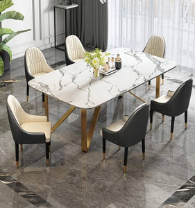 Vicky Yao Luxury Furniture - Luxury Nappa Dinner Chair