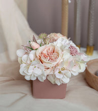 Load image into Gallery viewer, Vicky Yao Faux Floral - Exclusive Design Elegance Hydrangea Floral Arrangement