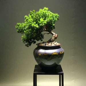Vicky Yao Faux Floral - New Chinese Style Greeting Artificial Pine Bansai